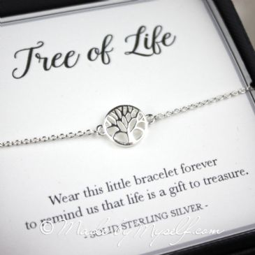 Tree of Life Bracelet (Boxed) - Solid Silver